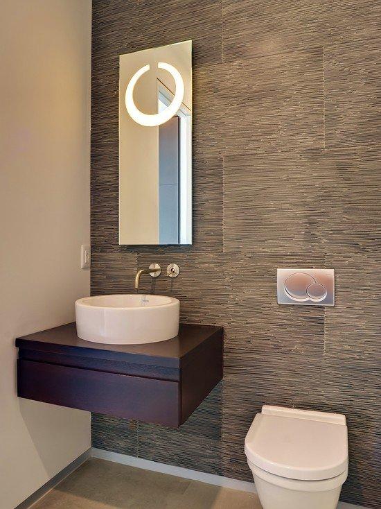 Banyo modelleri banyo dekorasyon rnekleri yed g n for Banos de visita pequenos