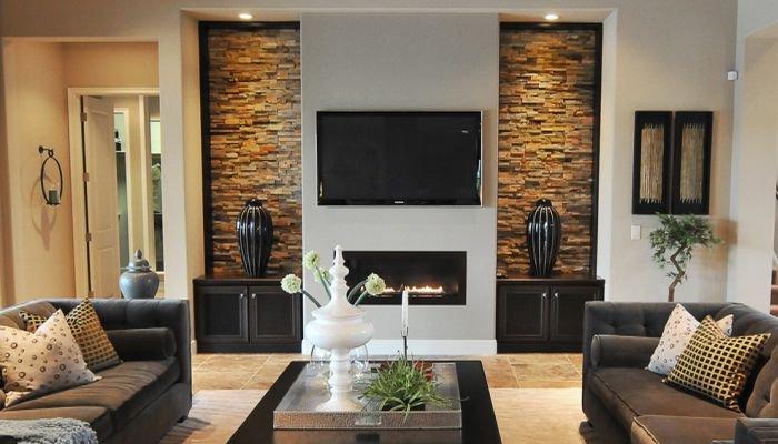 Bir salon için duvar kağıdı tasarımı nasıl seçilir